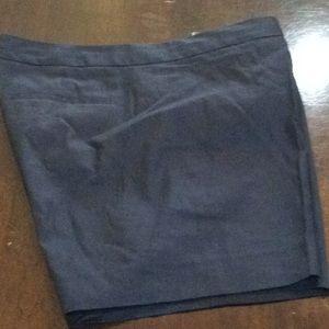 Elie Tahari navy shorts